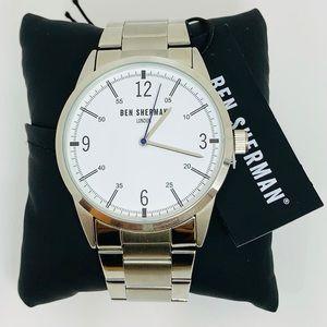 BEN SHERMAN Bracelet Watch In Silver